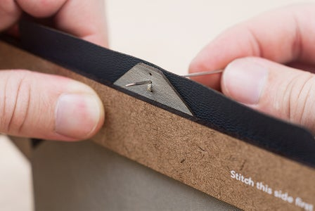 Saddle Stitching - This Side Second and Above the First