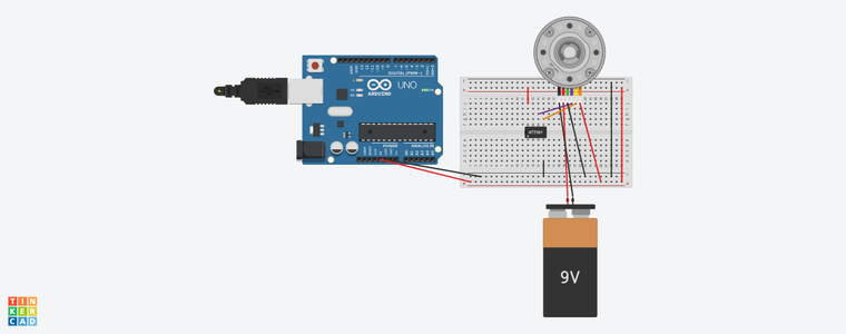 Microcontrollers and a Stepper Motor
