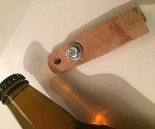 Rustic Pallet Bottle Opener