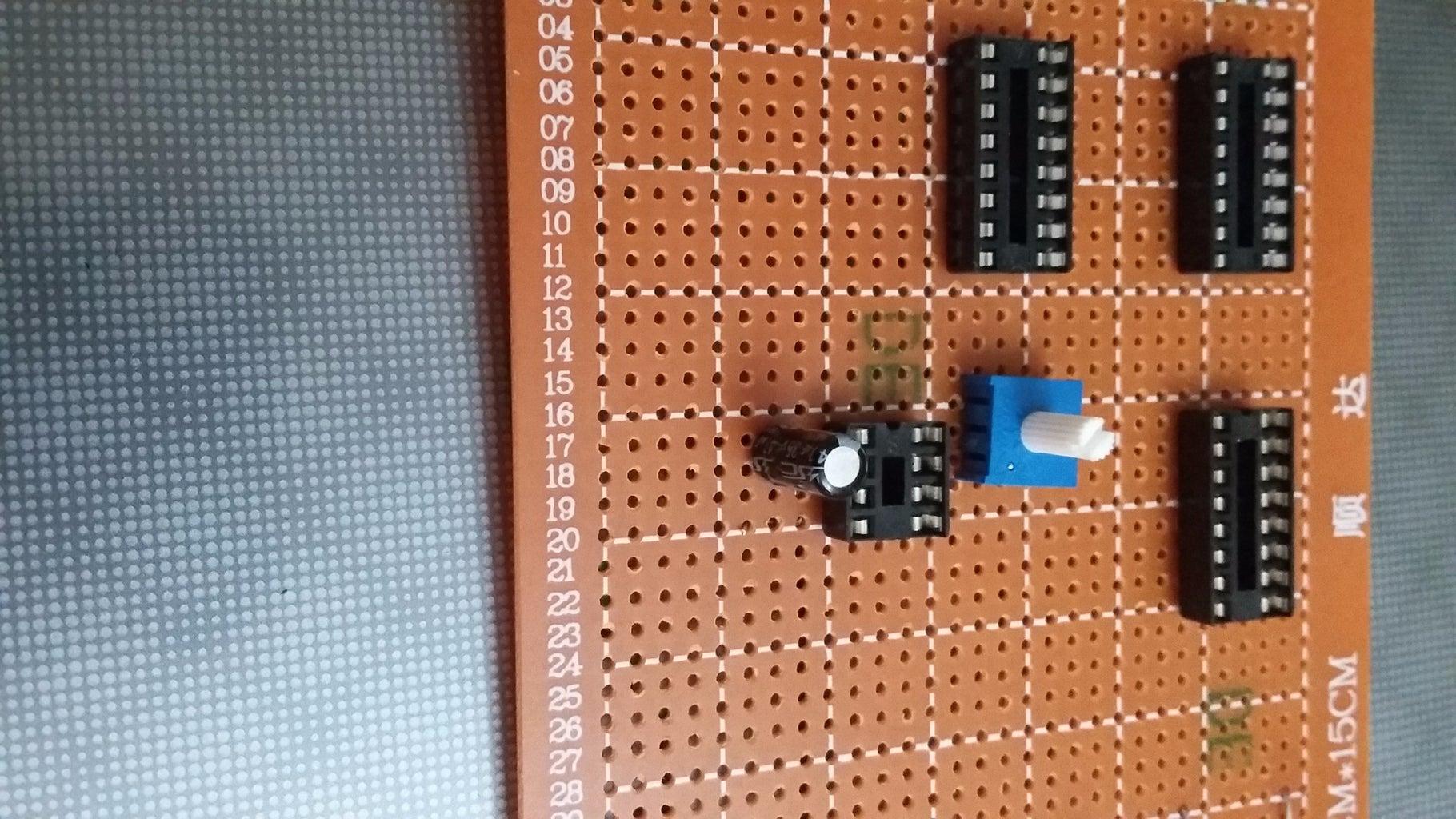 Install the 10K Potentiometer & Resistor