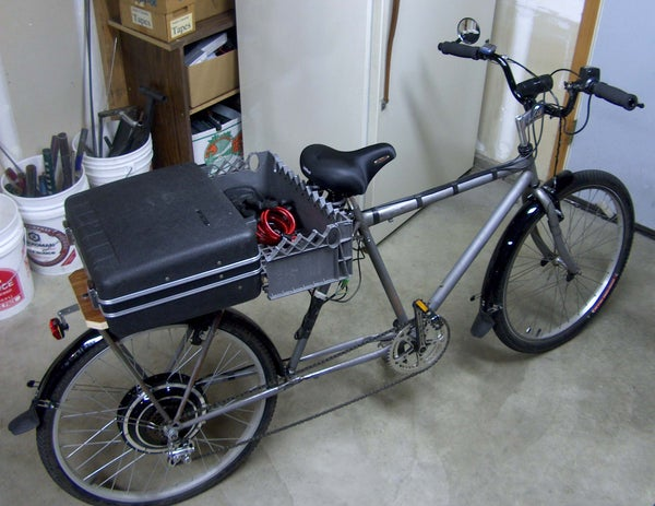Electric Long Bike