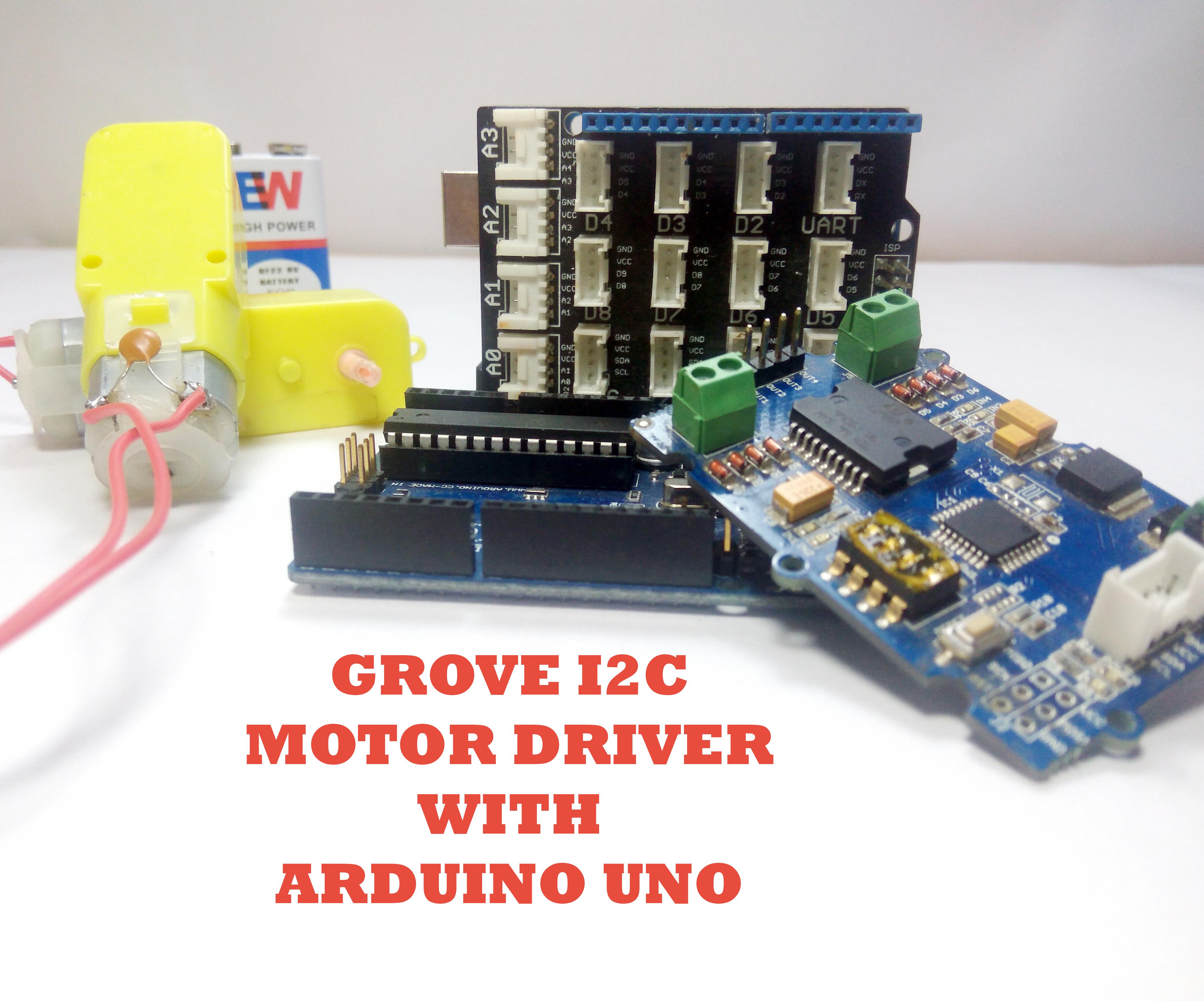 Arduino Grove I2C Motor Driver