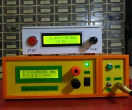 DIY Simple Arduino Frequency Meter Up to 6.5MHz