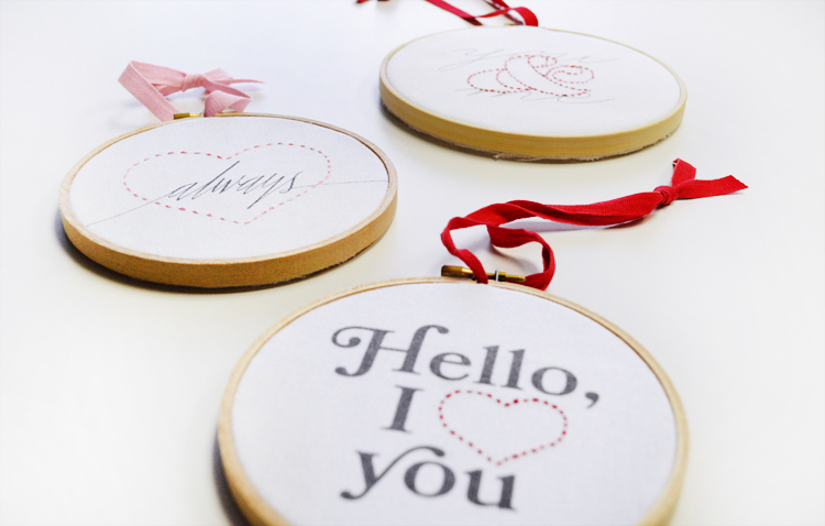 Sweetheart Embroidery Kit