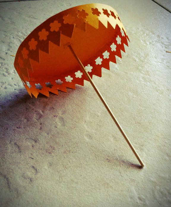 DIY Paper umbrella