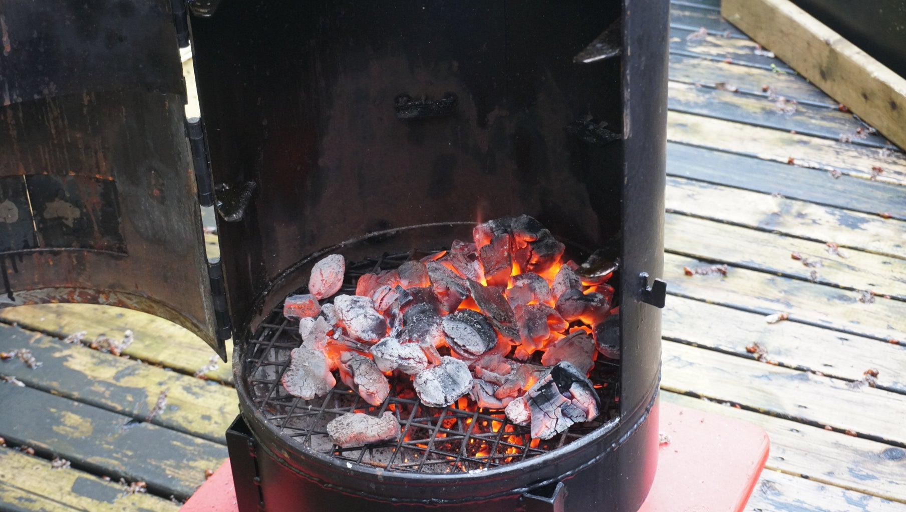 Cooking/Smoking the Beef Ribs