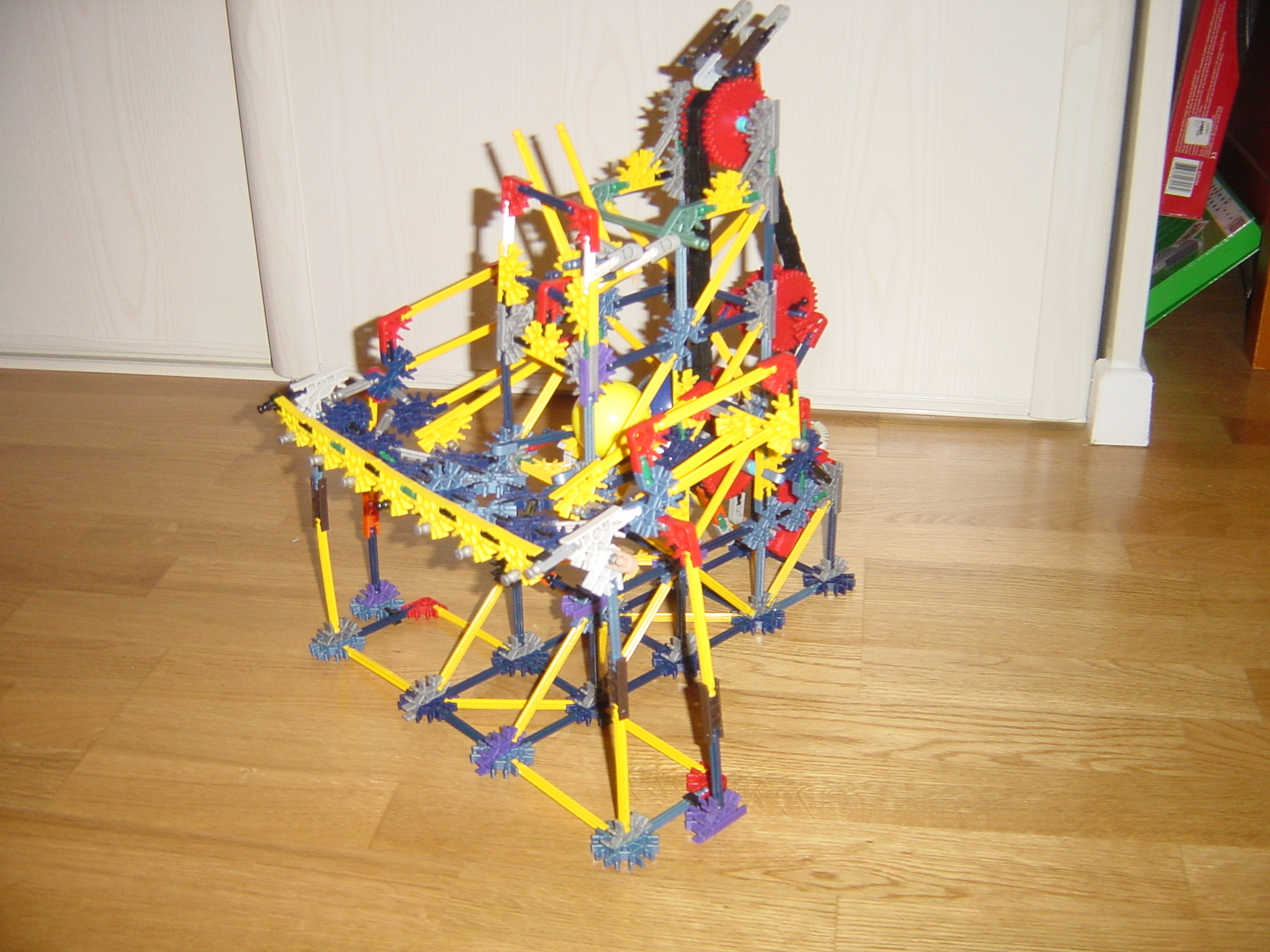 Project S (Knex Ball Machine)