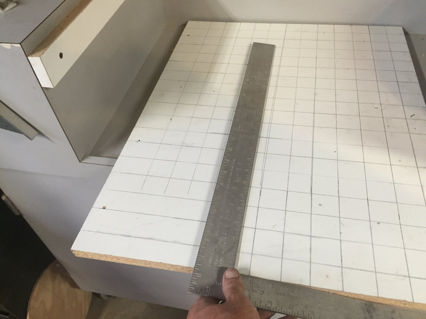 Lay Out and Drill a Grid