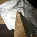How to obtain origami paper from Tetrapack bricks