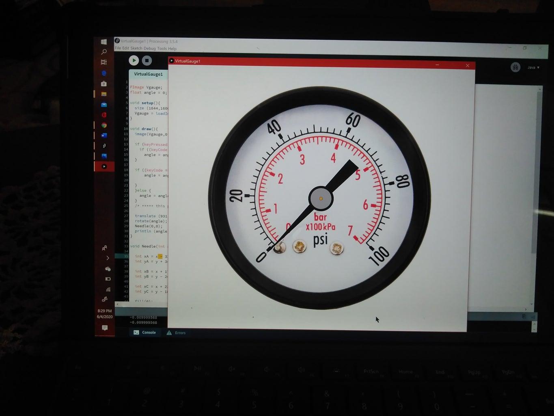 Virtual Pressure Gauge Part 1.