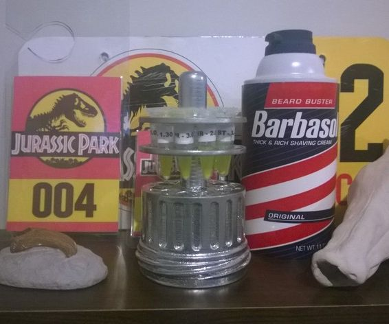 Cryocan Jurassic Park 3D Printing