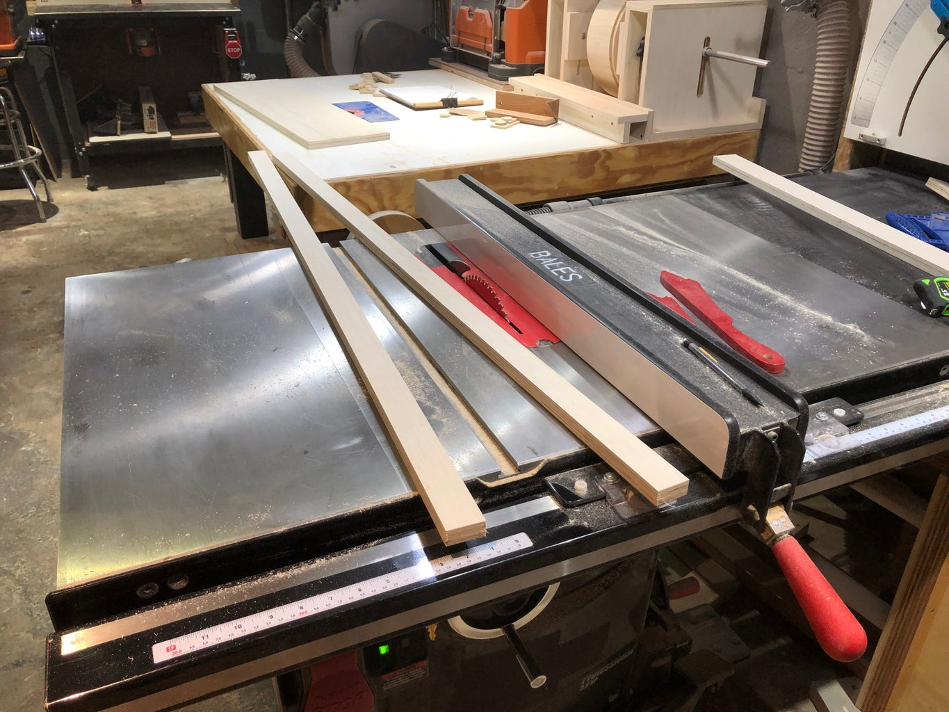 Layout and Frame Stock Milling