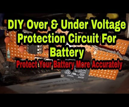Over & Under Voltage Protection for Battery or Power Supply