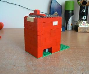 Easy Lego M&m Dispenser