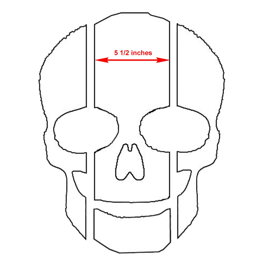Capture and Resize Skull Pattern