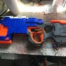 Simple Arduino Autofire Nerf Gun
