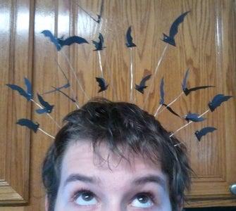 Bat Crown (glow in the Dark)