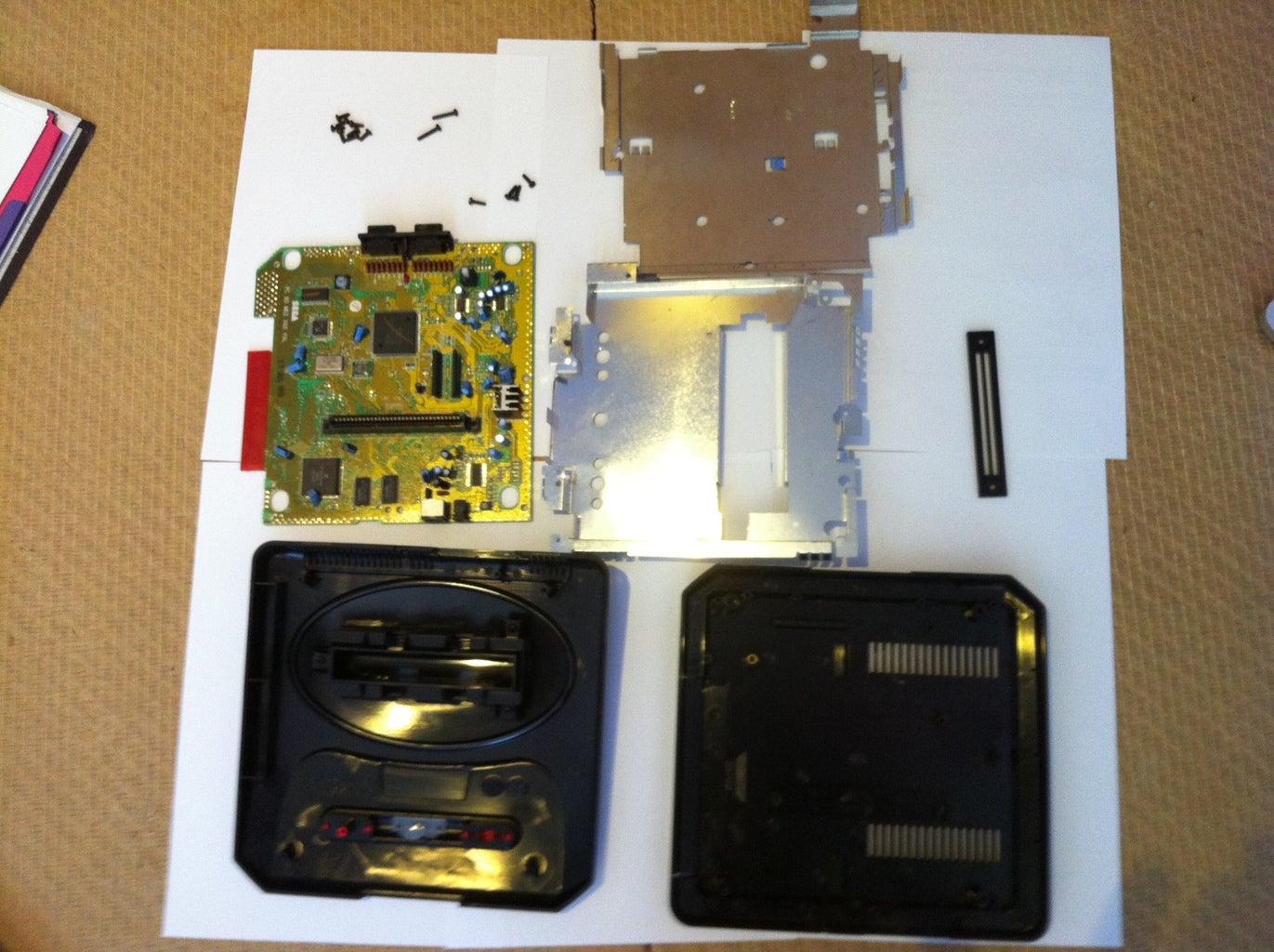 Dismantle Your Mega Drive/Genesis