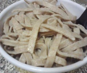 Roasted Garlic Whole Wheat Pasta From Scratch