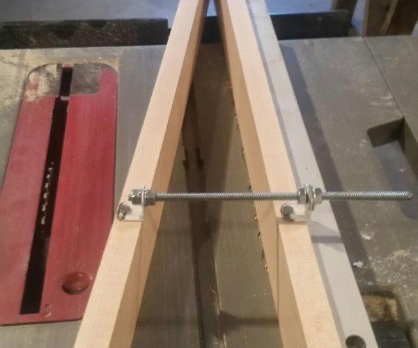 Make a Table Saw Tapering Iig