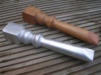 My New Aluminum Ramming Tool