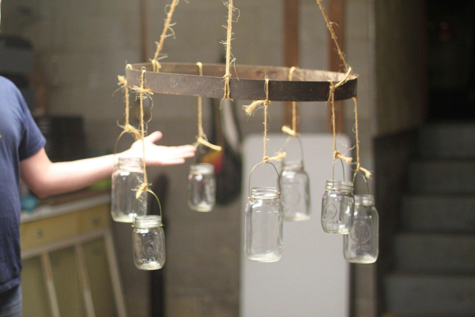 Hanging the Jars