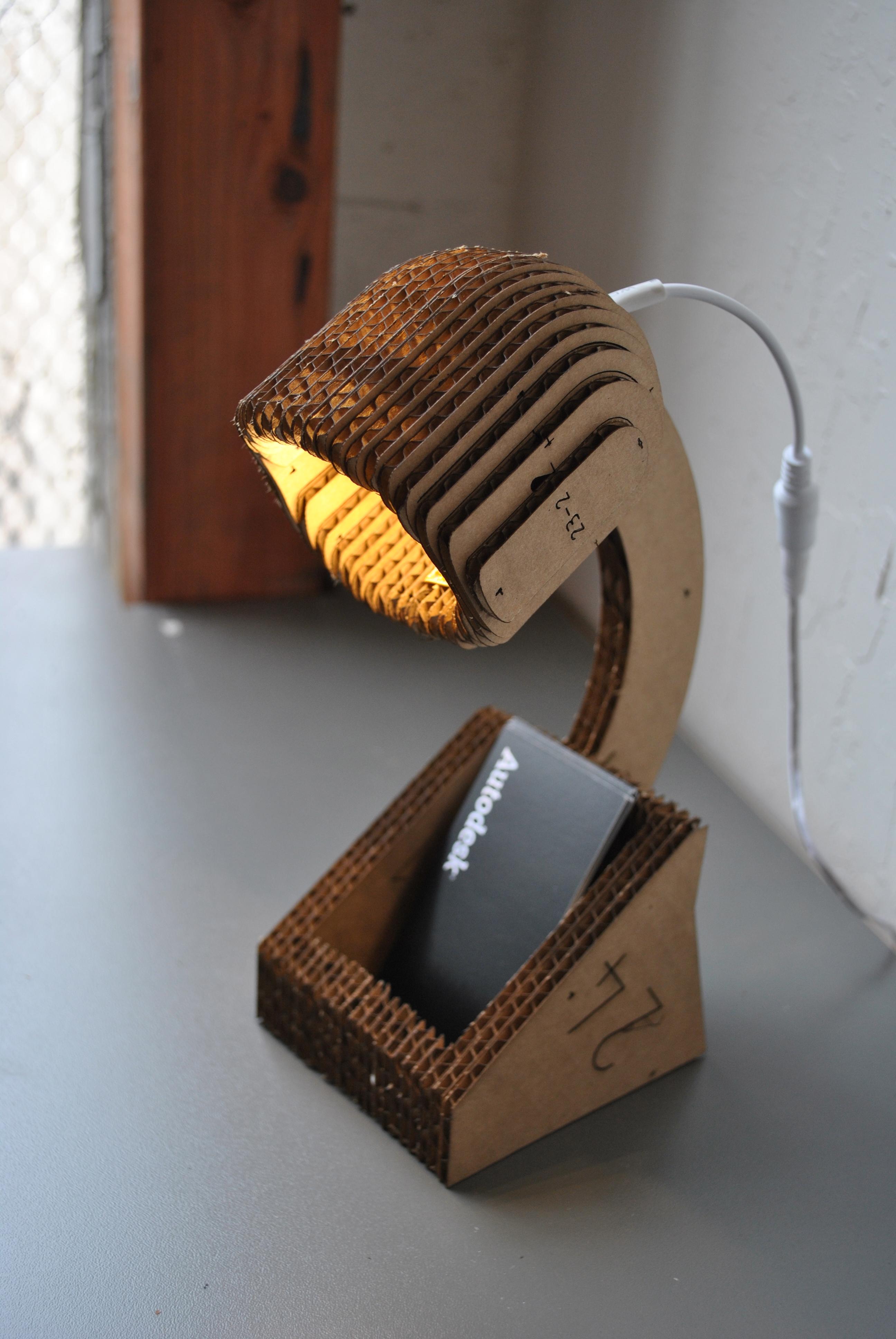 Desktop Lamp simple.