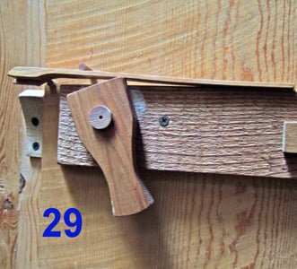 Making Wooden Latches