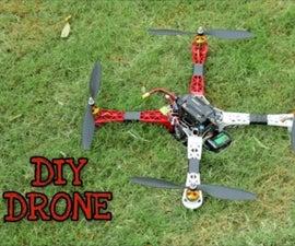 DIY DRONE (HOMEMADE)