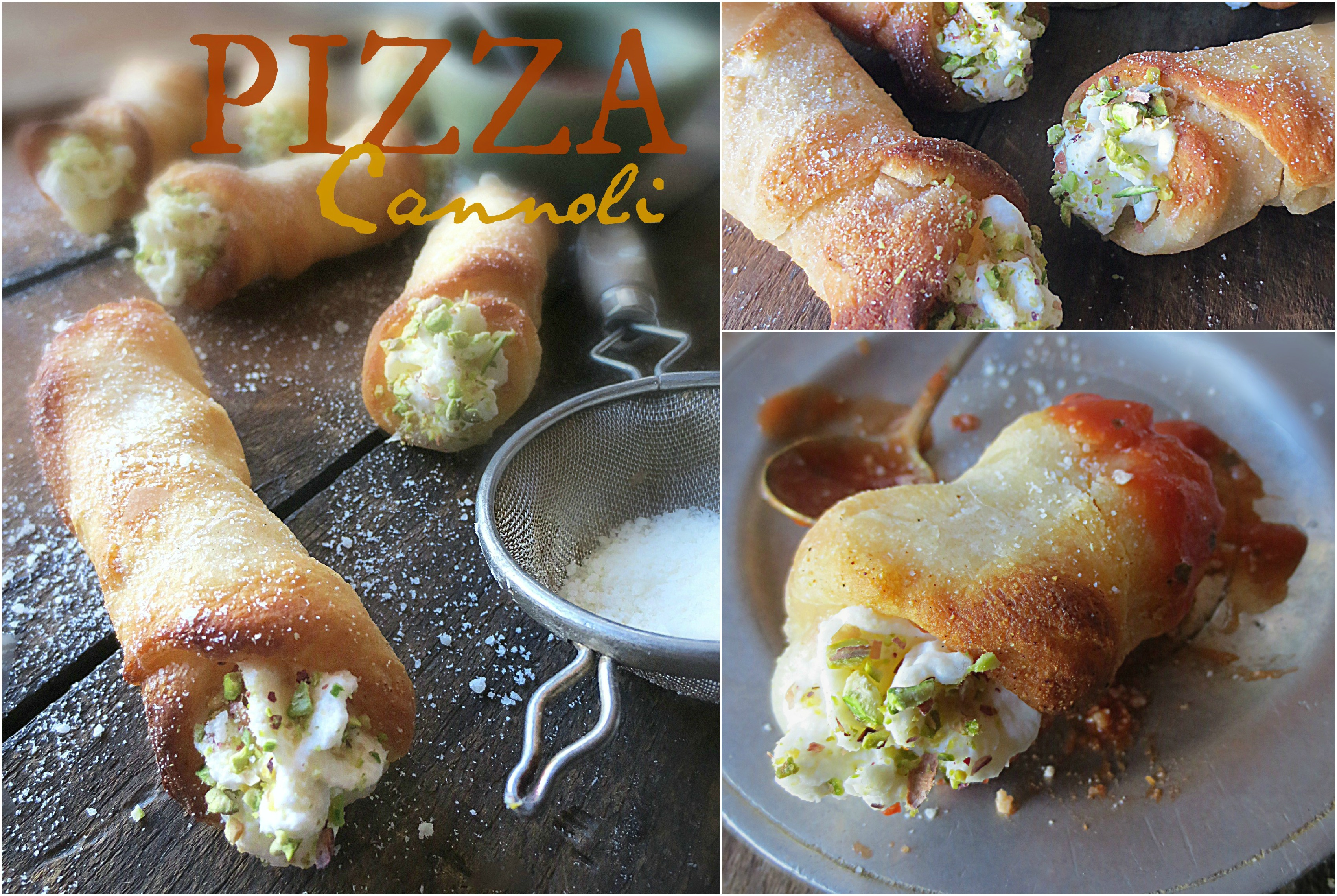 Pizza Cannoli