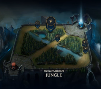 Step 3. the Map and Lane/Jungle Assignments