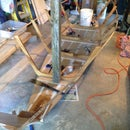 How to construct ribs for an 18 foot Grand Banks dory