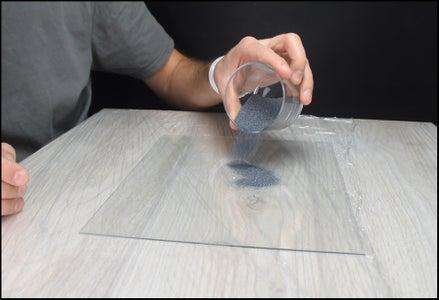 Sanding the Glass