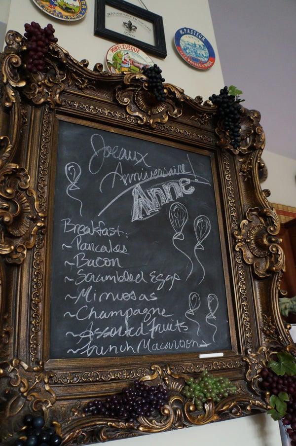 How to Make a Framed Chalkboard