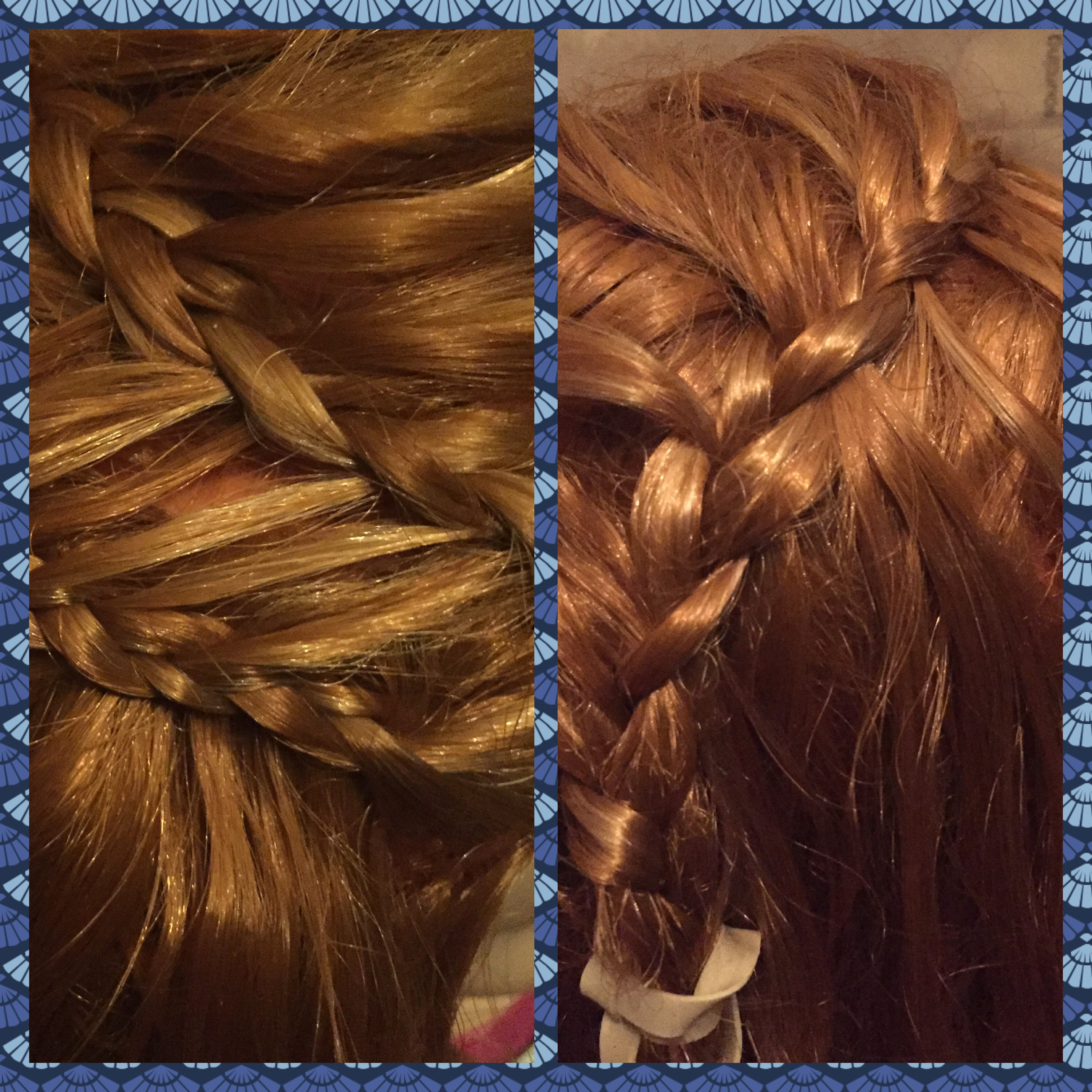 Feather and Ladder Braid 2 in 1