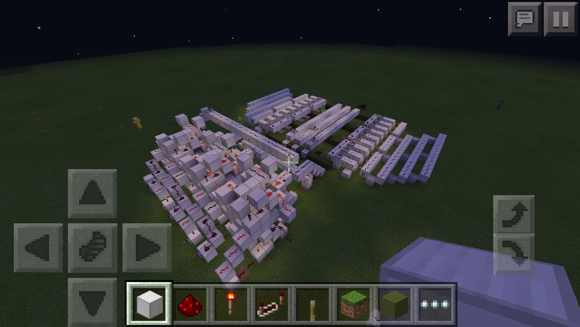 Minecraft Redstone Computer