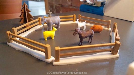 Modular Castle Playset (3D-printable)