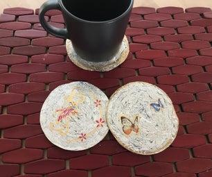 Tin Foil Coasters