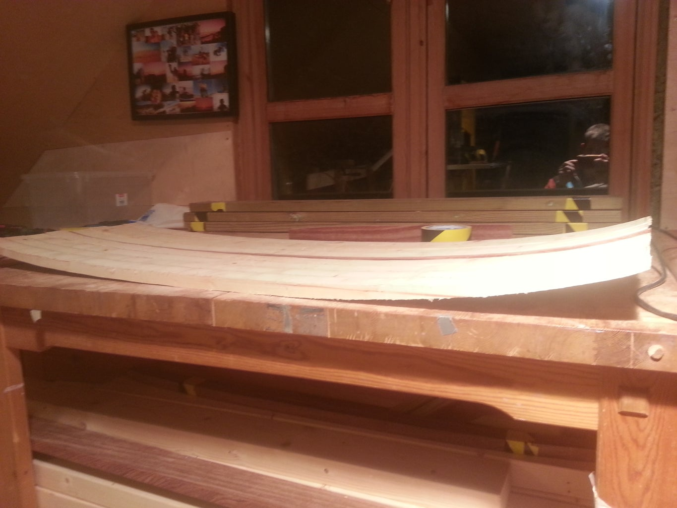 Rough Sanding and Cutting Outline