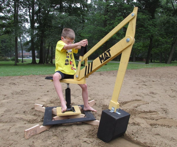 Sand Digger: Made From Recycled Pallets