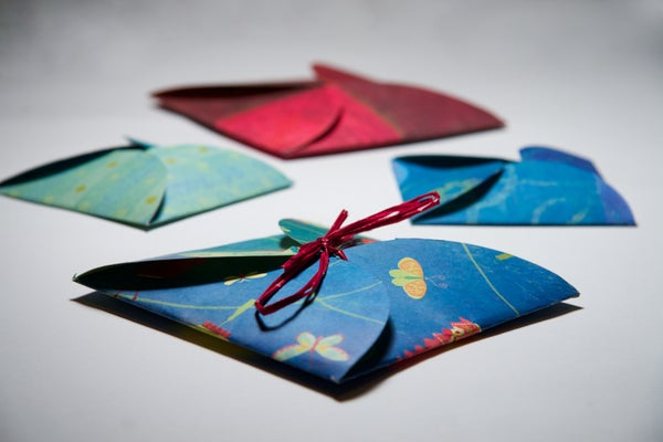 Quick, Elegant and Personalized Gift Card Holder