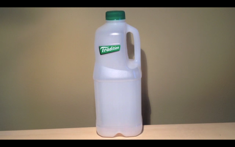 Preparation of the Plastic Bottle