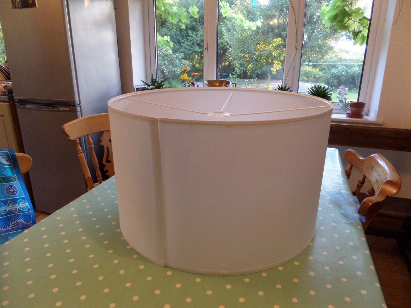 Attaching the Lampshade Cover