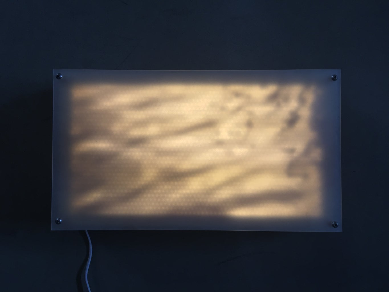 """""""Water"""", Light Panel Series - Rejected"""