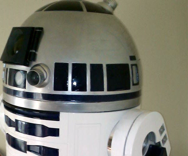 Spark Core IPhone/Android Controlled R2-D2