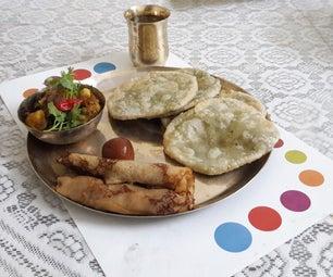 传统孟加拉早餐