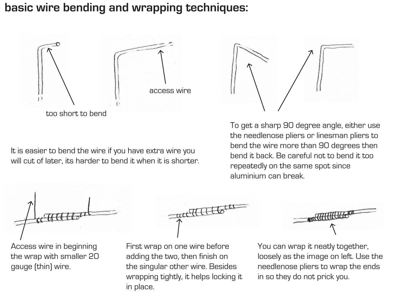 Wire Bending Techniques