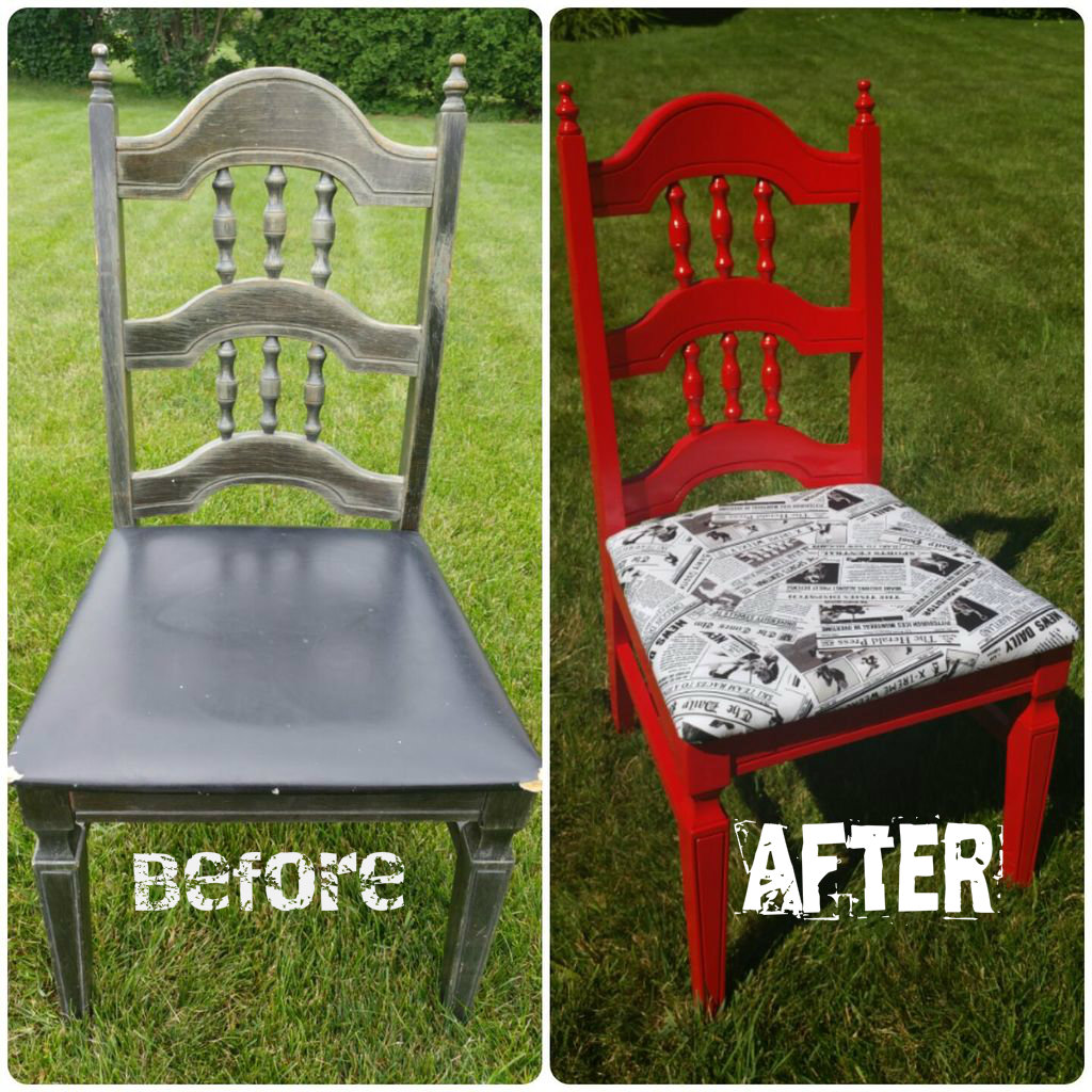 Refurbishing a Chair