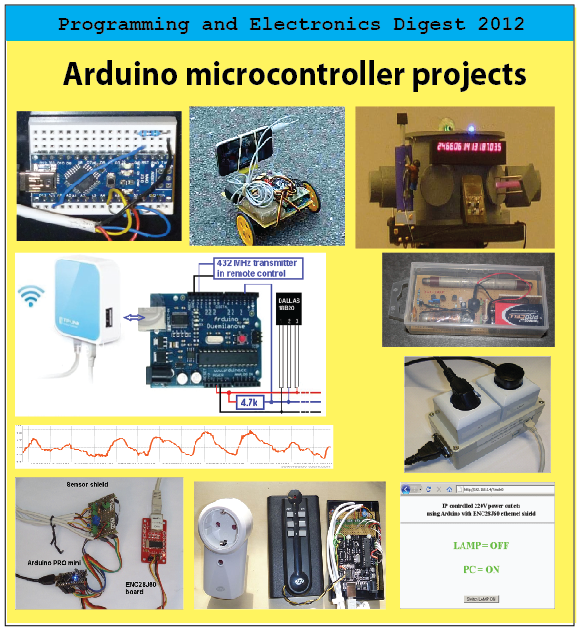 Arduino Microcontroller Projects