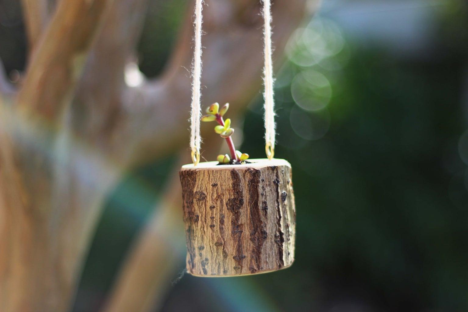 Firewood Planter